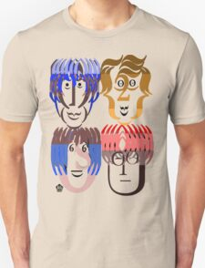 Typortraiture The Beatles T-Shirt