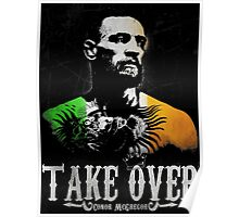 "Conor McGregor ""Take Over"" Poster"