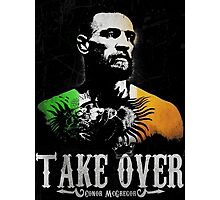 "Conor McGregor ""Take Over"" Photographic Print"