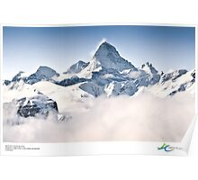 Mount Assiniboine, Canada Poster