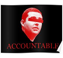 Not Accountable Poster