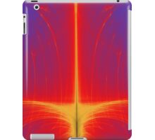 Beautiful Fiery Orange and Red Abstract Eruption iPad Case/Skin