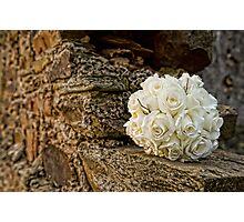 Bridal Bouquet Photographic Print