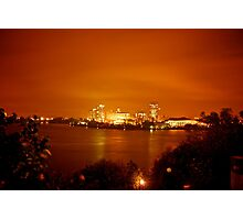 City on Fire Photographic Print