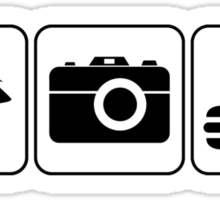 I Photograph Food Sticker