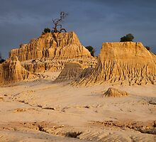 Ancient Land at Sunset  by Carole-Anne