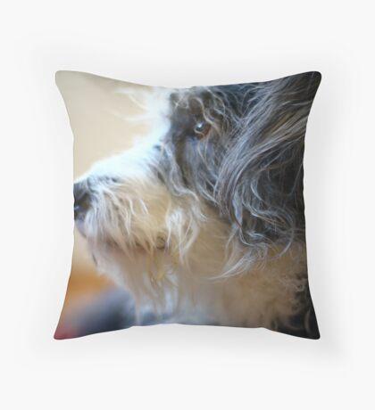 Maggie Profile Throw Pillow