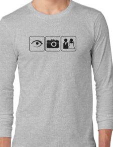 I Photograph Weddings Long Sleeve T-Shirt