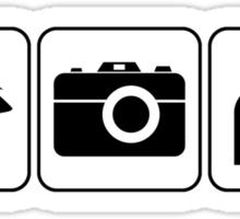 I Photograph Weddings Sticker