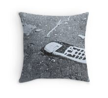 Dropped Call Throw Pillow