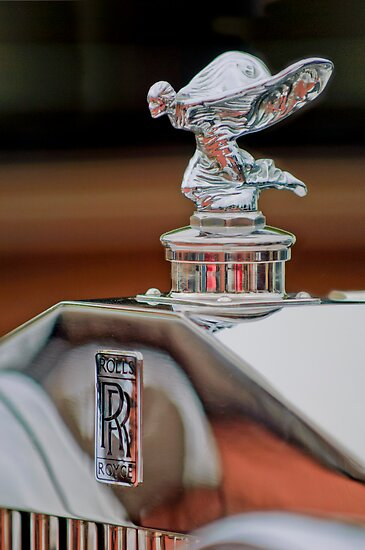 1935 Rolls-Royce Phantom II Continental Drophead Coupe Hood Ornament by Jill Reger