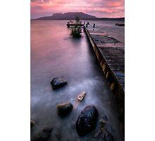 Tarawera in the Pink Photographic Print