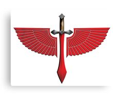 Winged Red Sword - Special Edition Canvas Print