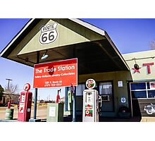 Old Route 66 Gas Station Photographic Print