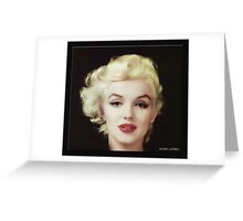 Marilyn in Oil Greeting Card