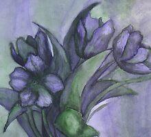 Purple and Green by TheoryAndLace