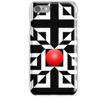 Red Ball 5 iPhone Case/Skin