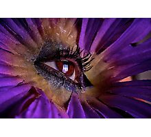 Eye in the Flower Photographic Print