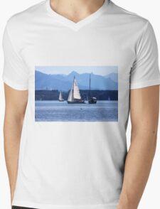 Bavarian Summer Feeling Mens V-Neck T-Shirt