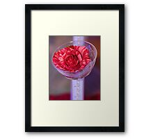 Love and Friendship Rose Framed Print