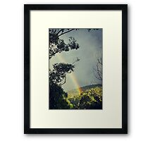 I can see clearly Framed Print