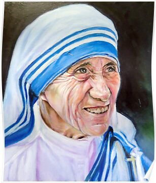 Mother Teresa by Hidemi Tada
