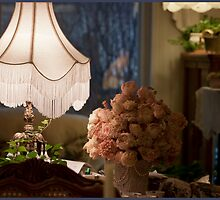 My Nest With Lamps by Sandra Foster