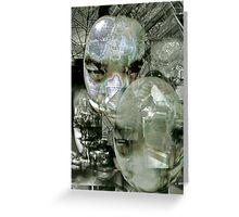 Futurist Portrait (untitled). Greeting Card