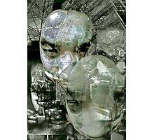Futurist Portrait (untitled). Photographic Print