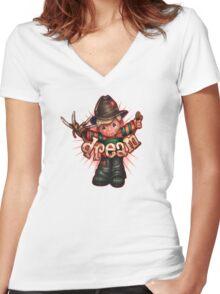 DREAM Women's Fitted V-Neck T-Shirt