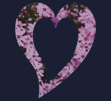 Pink Phlox Flower Art One Piece - Short Sleeve