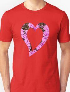 Pink Phlox Flower Art T-Shirt