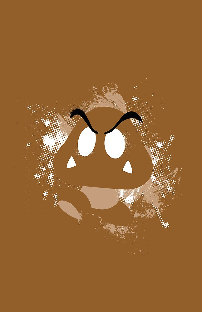 Spray Paint Goomba by meadsblog