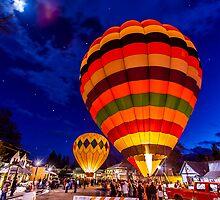 2012 Winthrop Balloon Glow by Jim Stiles
