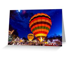 2012 Winthrop Balloon Glow Greeting Card