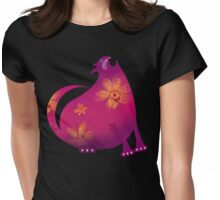 HUNGRY CAT 2 Womens Fitted T-Shirt