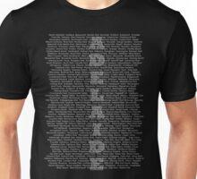 Adelaide Suburbs Unisex T-Shirt