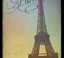 Sweet Eiffel Tower 1 by Norella Angelique