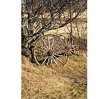 Wagon Wheels Photographic Print