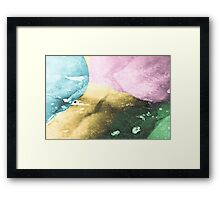 Shades of Ice Framed Print
