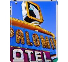 Route 66 Palomino Motel iPad Case/Skin