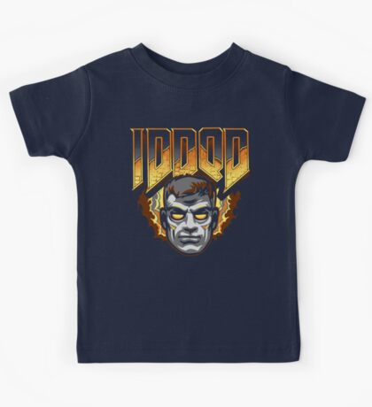 IDDQD - GOD MODE Kids Tee