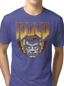 IDDQD - GOD MODE Tri-blend T-Shirt