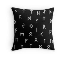 Viking Runes 2  Throw Pillow