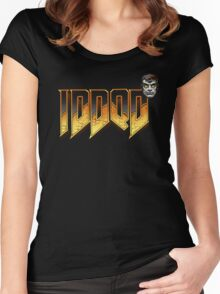 IDDQD GOD MODE 2 Women's Fitted Scoop T-Shirt