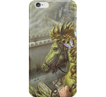 Hercuples The Fire-Horse iPhone Case/Skin