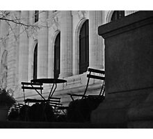 New York Public Library | Seating Photographic Print