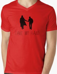 Sherlock - Take My Hand Mens V-Neck T-Shirt