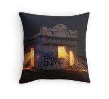 Pump House Inferno Throw Pillow