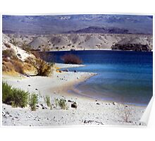 Cottonwood Cove, Lake Mojave, Nevada Poster